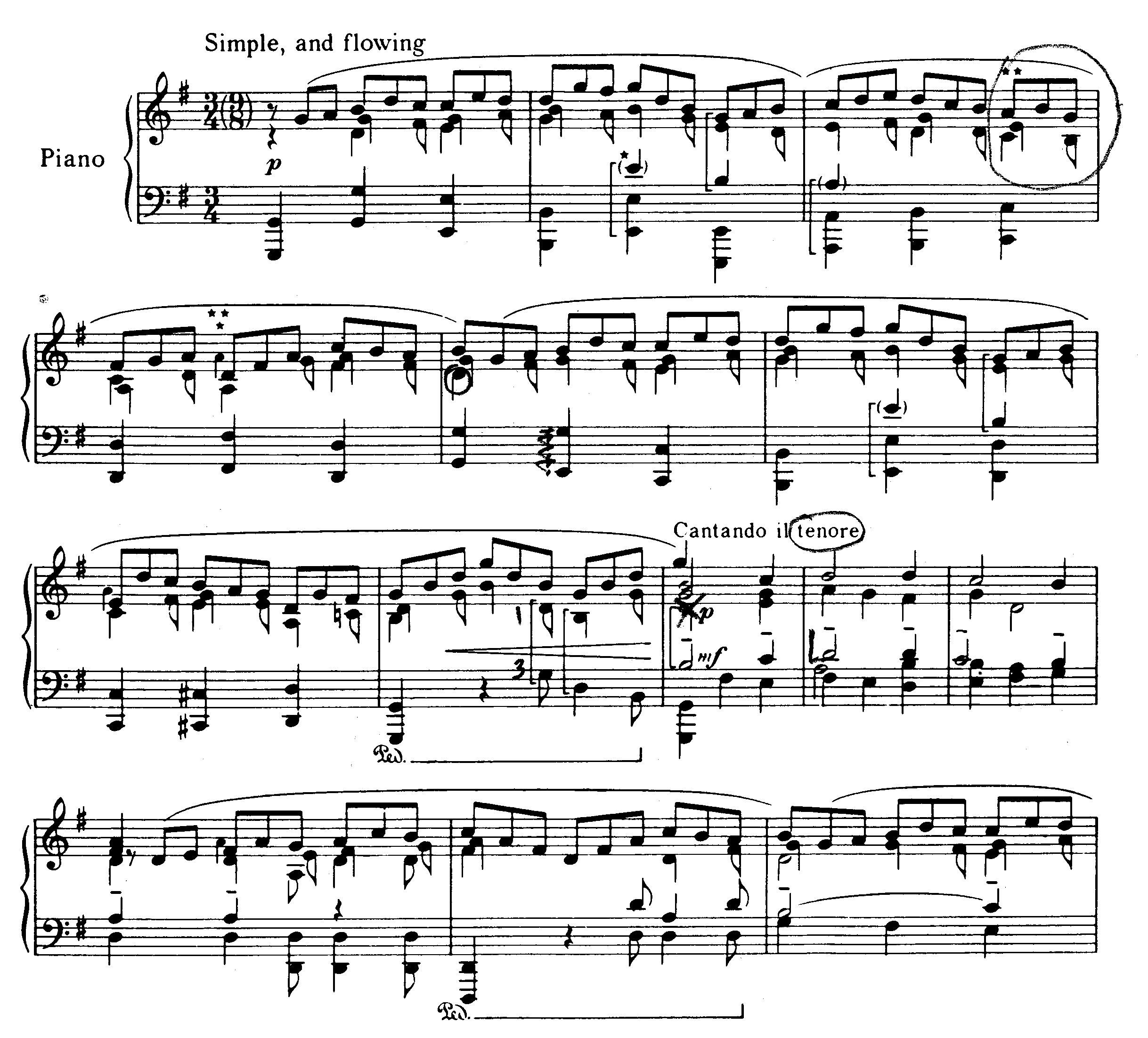 Interesting music notation bachhess jesu biocorpaavc Images