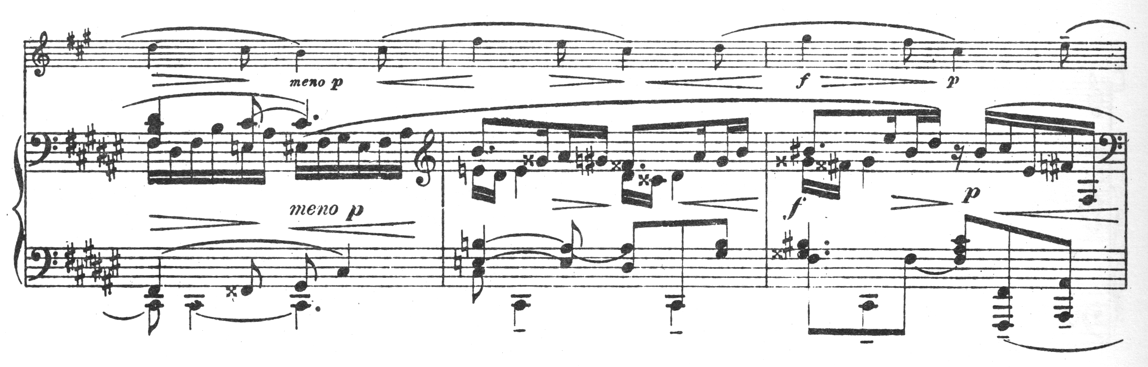 Interesting music notation one example is this f triple sharp biocorpaavc Image collections